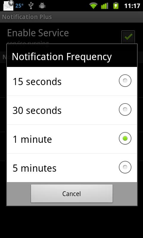 Notification Plus- screenshot