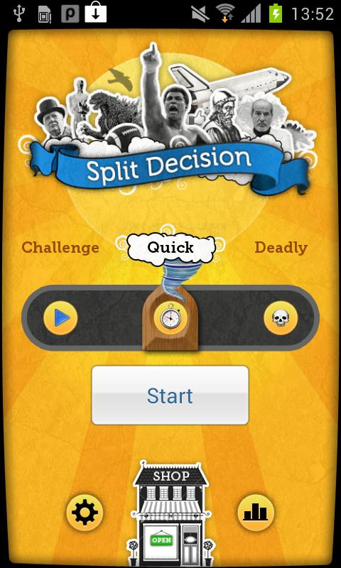 Split Decision - screenshot