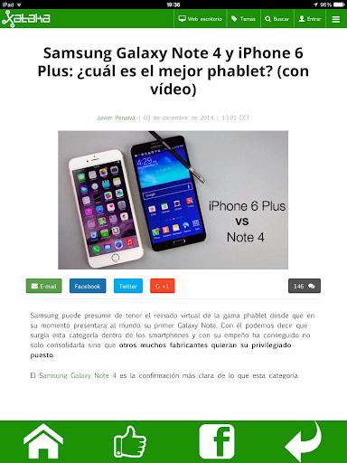 【免費通訊App】XATAKA para Tablets-APP點子