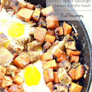 Chicken Apple Sausage and Sweet Potato Hash