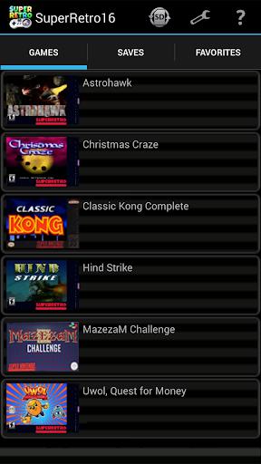SuperRetro16 Lite (SNES Emulator) 1.8.1 DreamHackers 2