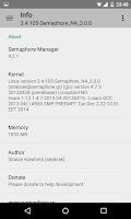 Screenshot of Semaphore Manager