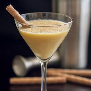Egg Nog Martini.