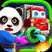 Panda Truck Driver: Rescue Fun