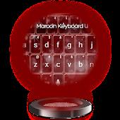 Maroon Keyboard