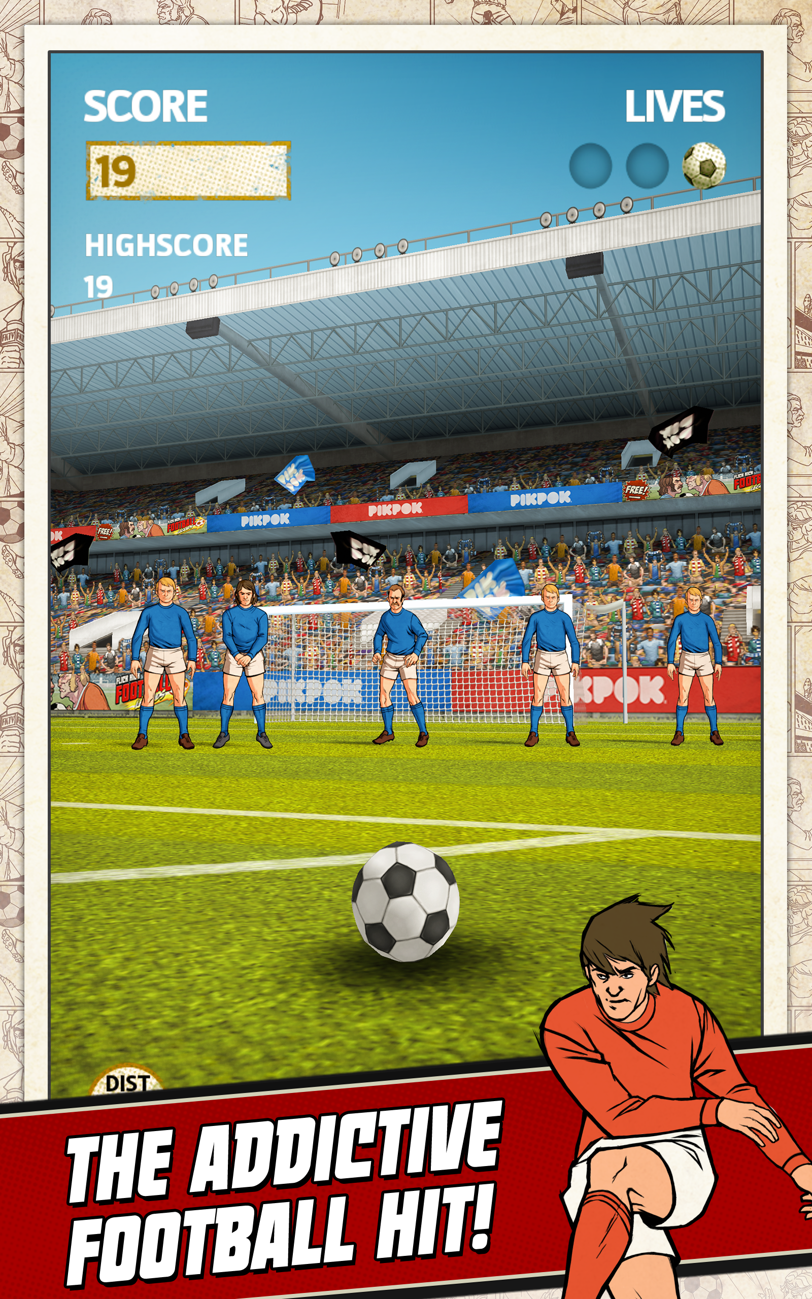 Flick Kick Football screenshot #5
