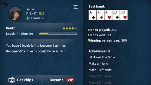 Appeak u2013 The Free Poker Game  screenshots 10