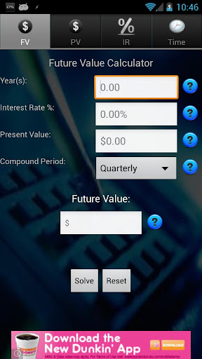 Finance TVM Calculator Free