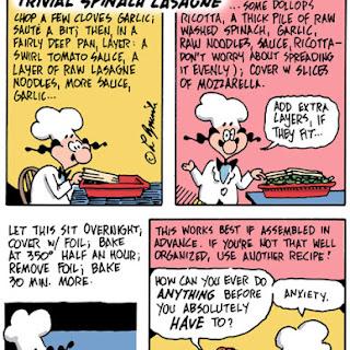 Trivial Spinach Lasagna