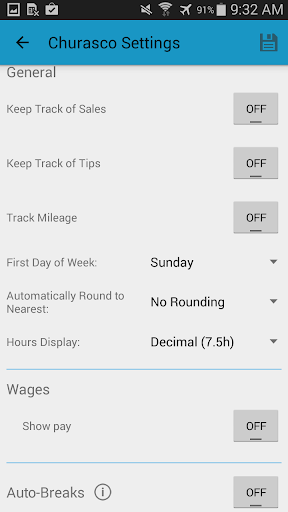 Screenshot for Work Log Pro in United States Play Store