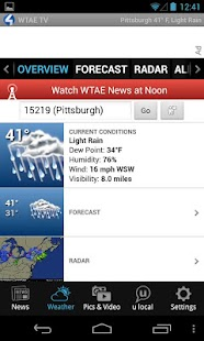 WTAE 4 TV - news and weather - screenshot thumbnail