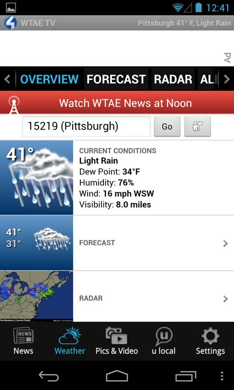 WTAE- Pittsburgh Action News 4 - screenshot