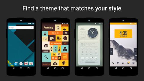 Themer: Launcher, HD Wallpaper Screenshot 4