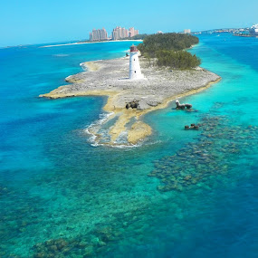 Bahamas by Toni Haas - Landscapes Waterscapes ( water, waterscape, lighthouse, bahamas )