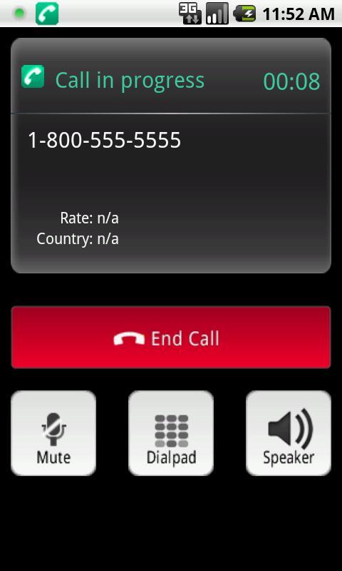 mobeecheapPro - VoIP Dialer- screenshot