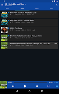 DoggCatcher Podcast Player - screenshot thumbnail