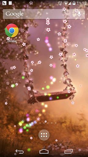 春の桜の花の妖精の壁紙