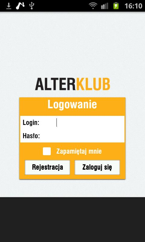 Alter Club- screenshot