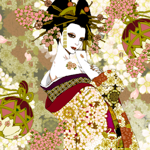 Live Wallpaper Oiran~glories t