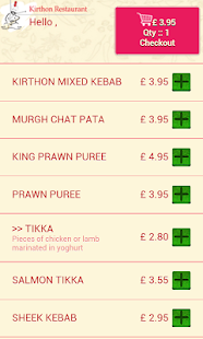Kirthon Restaurant- screenshot thumbnail