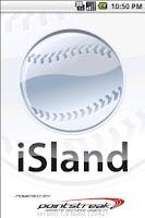 Screenshot of Island Softball Mobile