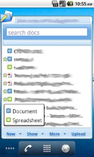 My Docs - Google Docs - screenshot thumbnail