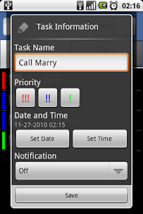 To-Do Tasks - screenshot thumbnail