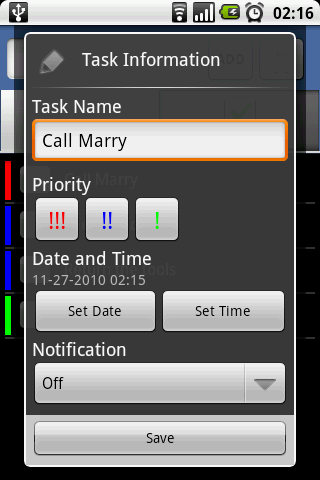 To-Do Tasks - screenshot