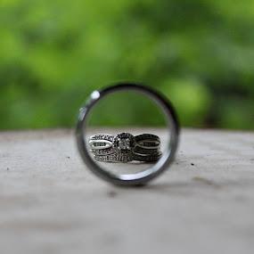 the rings, please by Brooke Beauregard - Wedding Details ( object, artistic, jewelry )
