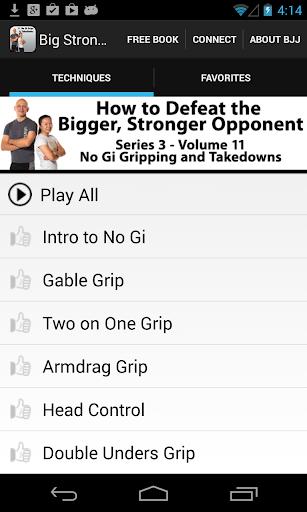BigStrong 11 No Gi Takedowns