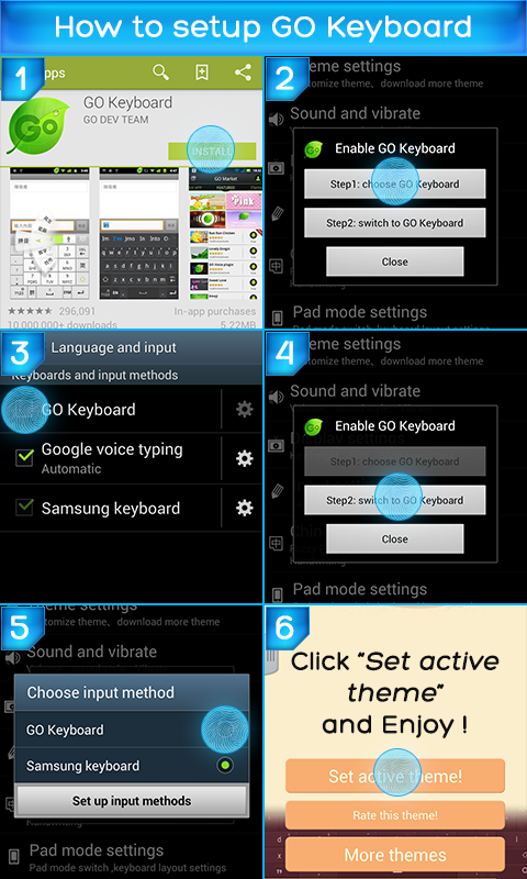 Keyboard for Motorola Razr i - screenshot