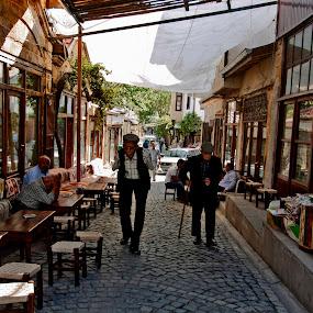Safranbolu-TURKEY by Ahmet Güler - People Portraits of Men ( safranbolu-turkey, , Urban, City, Lifestyle, public, bench, furniture, object, Travel, People, Culture )