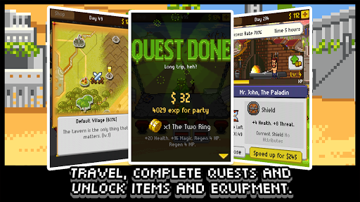 Download Knights of Pen & Paper +1 MOD APK 3