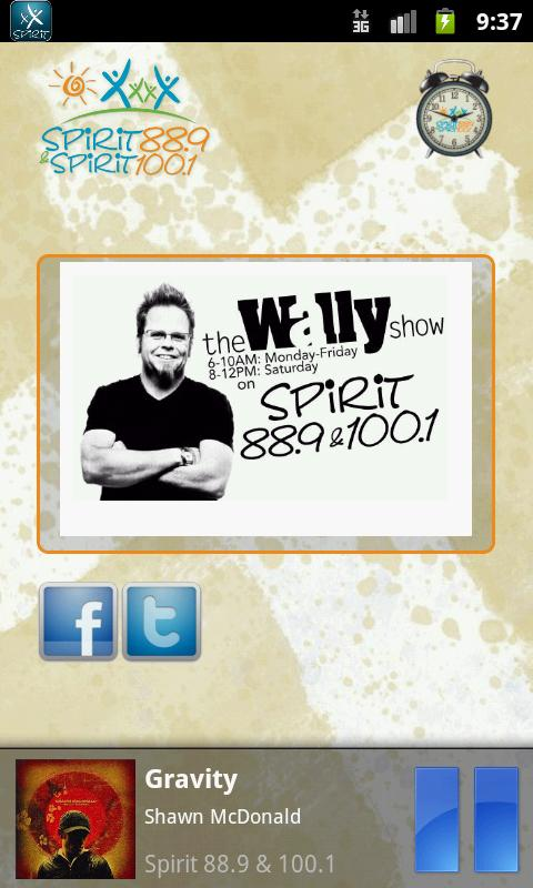 Spirit 88.9 & 100.1 - screenshot