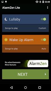 Alarm Zen Lite - Free - screenshot thumbnail