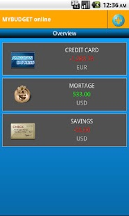 MyBudget online- screenshot thumbnail
