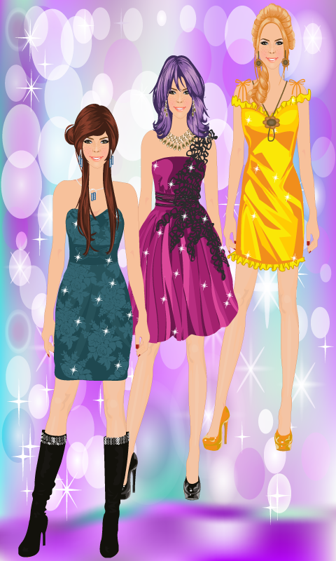 Dress Up Fashion Girl Game - screenshot