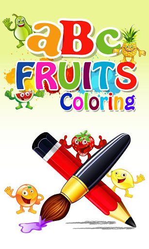 ABC Fruits Coloring