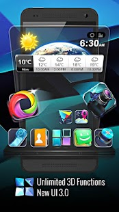 Next Launcher 3D Shell 3.11 APK + OBB Data / Unlimited Money Mod