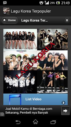 Lagu Korea Terpopuler