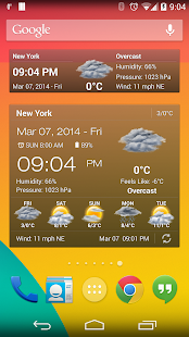 weather and clock widget ad free pro apk