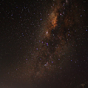milky way from Tual by Firman Musa'ad - Landscapes Starscapes
