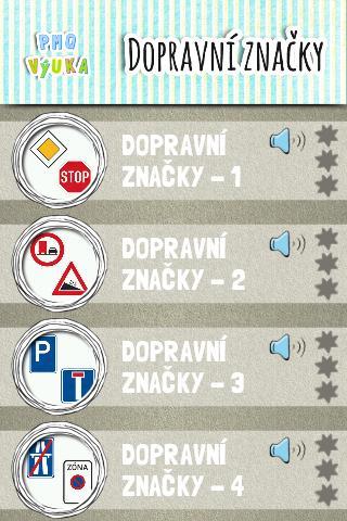 Nauč se dopravní značky [PMQ]
