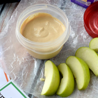 Healthy Peanut Butter Dip {One Recipe, Five Lunches}.