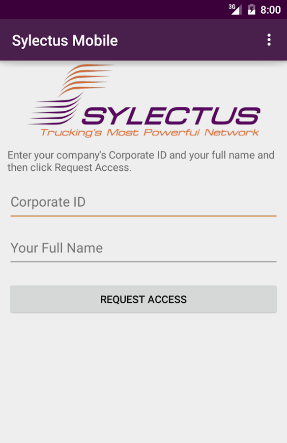 Sylectus Mobile - screenshot
