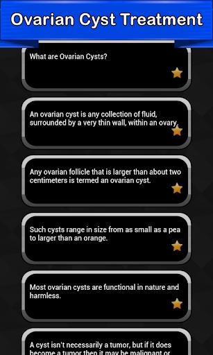Ovarian Cyst Symptoms  screenshots 2
