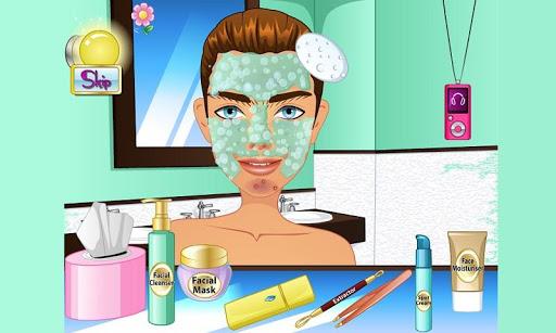 Makeup in Washroom