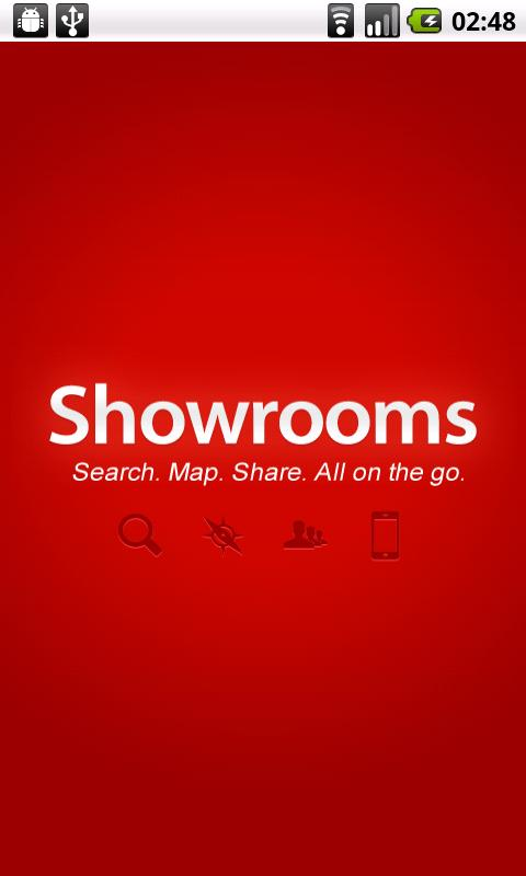 Showrooms - screenshot