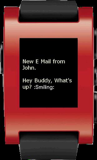 Pebble Custom Notifier - Emoji