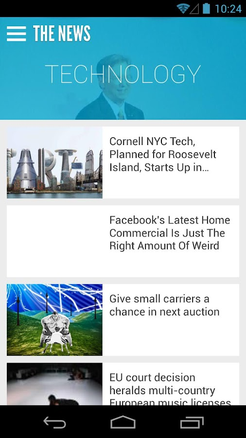 The News: Your News Reader App- screenshot